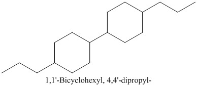 CAS 86503-59-5 1,1'-Bicyclohexyl, 4,4'-dipropyl-