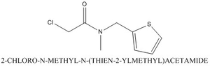 CAS 791600-95-8 2-CHLORO-N-METHYL-N-(THIEN-2-YLMETHYL)ACETAMIDE
