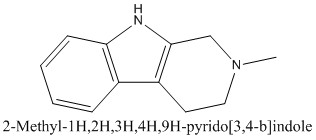 CAS 13100-00-0 2-Methyl-1H,2H,3H,4H,9H-pyrido[3,4-b]indole