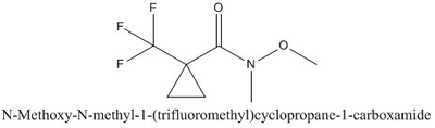 CAS 1011460-56-2 N-Methoxy-N-methyl-1-(trifluoromethyl)cyclopropane-1-carboxamide