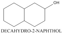 CAS 825-51-4 DECAHYDRO-2-NAPHTHOL