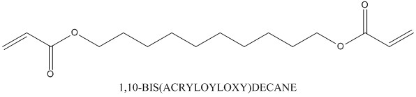 CAS 13048-34-5 1,10-BIS(ACRYLOYLOXY)DECANE
