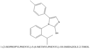 CAS 790681-62-8 1-(2-ISOPROPYLPHENYL)-5-(4-METHYLPHENYL)-1H-IMIDAZOLE-2-THIOL