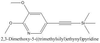 CAS 1171919-88-2 2,3-Dimethoxy-5-((trimethylsilyl)ethynyl)pyridine