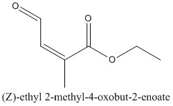 CAS 90177-86-9 (Z)-ethyl 2-methyl-4-oxobut-2-enoate