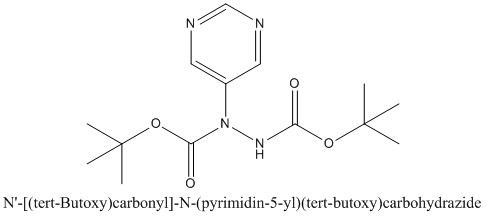 CAS 1234615-84-9 N'-[(tert-Butoxy)carbonyl]-N-(pyrimidin-5-yl)(tert-butoxy)carbohydrazide