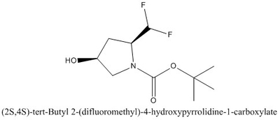 CAS 1207852-93-4 (2S,4S)-tert-Butyl 2-(difluoromethyl)-4-hydroxypyrrolidine-1-carboxylate