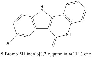 CAS 1255953-80-0 8-Bromo-5H-indolo[3,2-c]quinolin-6(11H)-one