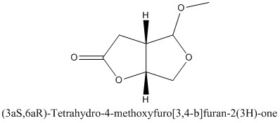 CAS 501921-30-8 (3aS,6aR)-Tetrahydro-4-methoxyfuro[3,4-b]furan-2(3H)-one