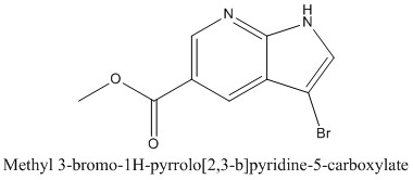 CAS 1190322-65-6 Methyl 3-bromo-1H-pyrrolo[2,3-b]pyridine-5-carboxylate