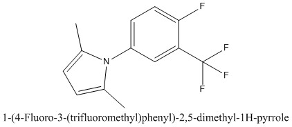 CAS 1284503-14-5 1-(4-Fluoro-3-(trifluoromethyl)phenyl)-2,5-dimethyl-1H-pyrrole