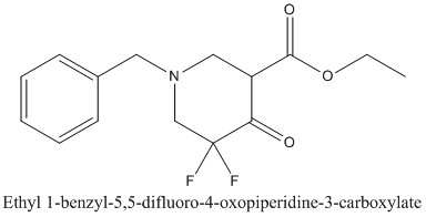 CAS 1067915-34-7 Ethyl 1-benzyl-5,5-difluoro-4-oxopiperidine-3-carboxylate