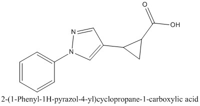 CAS 1157561-99-3 2-(1-Phenyl-1H-pyrazol-4-yl)cyclopropane-1-carboxylic acid