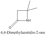 CAS 4879-95-2 4,4-Dimethylazetidin-2-one