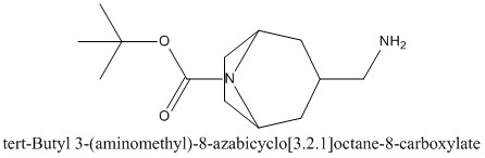 CAS 1159826-40-0 tert-Butyl 3-(aminomethyl)-8-azabicyclo[3.2.1]octane-8-carboxylate