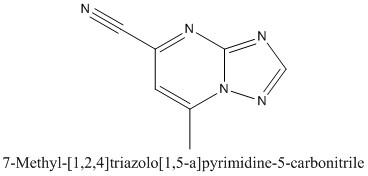 CAS 125786-47-2 7-Methyl-[1,2,4]triazolo[1,5-a]pyrimidine-5-carbonitrile