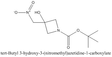 CAS 1008526-70-2 tert-Butyl 3-hydroxy-3-(nitromethyl)azetidine-1-carboxylate
